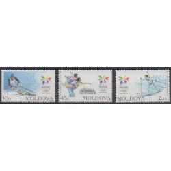 Moldavie - 1998 - No 223/225 - Jeux olympiques d'hiver
