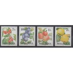 Moldova - 1998 - Nb 236/239 - Fruits or vegetables