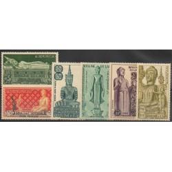 Laos - 1953- No PA 7 / PA12 - Art - Neuf avec charnière