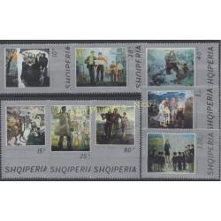 Albania - 1974 - Nb 1535/1542 - Painting