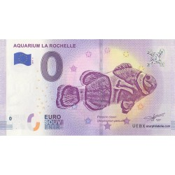 Euro banknote memory - 17 - Aquarium La Rochelle - 2019-4