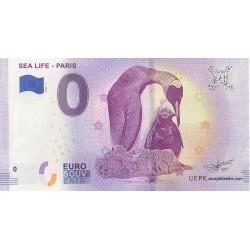 Euro banknote memory - 77 - Sea Life - Paris - 2019-1