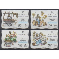 Oman - 1988 - No 300/303 - Artisanat ou métiers