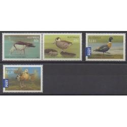 Australia - 2012 - Nb 3569/3572 - Birds