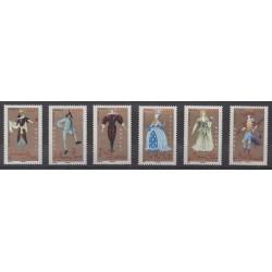 France - Poste - 2006 - Nb 3917/3922 - Costumes - Uniforms - Fashion - Music