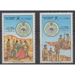 Oman - 1986 - No 279/280 - Scoutisme