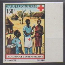 Central African Republic - 1972 - Nb 166ND - Health