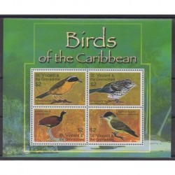 Saint Vincent (Grenadines) - 2007 - Nb 5001/5004 - Birds