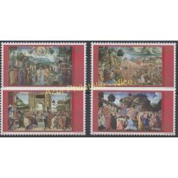 Vatican - 2000 - No 1220/1223 - Peinture