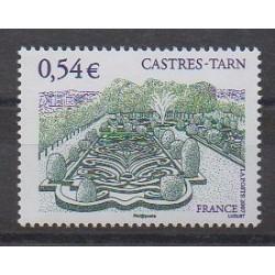 France - Poste - 2007 - Nb 4079 - Parks and gardens