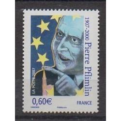 France - Poste - 2007 - No 4078 - Europe - Célébrités