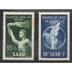 Saar - 1952- Nb 301/302 - Summer olympics