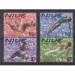 Niue - 2000 - No 723/726 - Philatélie - Jeux Olympiques d'été