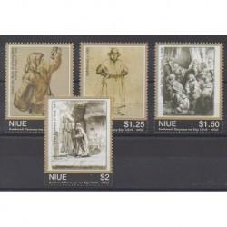 Niue - 2007 - Nb 849/852 - Paintings
