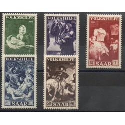 Saar - 1951 - Nb 296/300