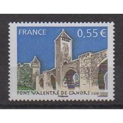 France - Poste - 2008 - Nb 4180 - Bridges