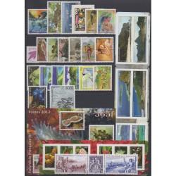 Polynésie - Année complète - 2012 - No 978/1012 - BF38