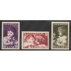 Saar - 1953 - Nb 323/325
