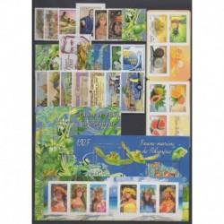 Polynésie - Année complète - 2013 - No 1013/1047 - BF39 - F1019