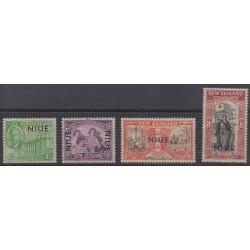Niue - 1946 - Nb 76/79