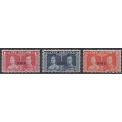 Niue - 1937 - Nb 59/61