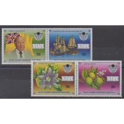 Niue - 1985 - Nb 476/479
