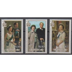 Niue - 1986 - Nb 492/494 - Royalty
