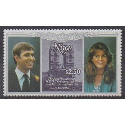 Niue - 1986 - No 499 - Royauté - Principauté