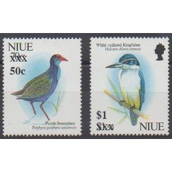 Niue - 1996 - Nb 654/655 - Birds