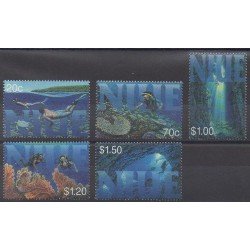 Niue - 1998 - Nb 680/684 - Sea animals