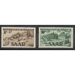 Saar - 1949 - Nb 250/251
