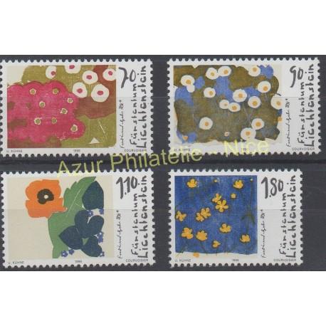 Liechtenstein - 1996 - No 1073/1076 - Peinture