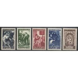 Saar - 1949 - Nb 263/267
