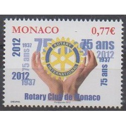 Monaco - 2012 - Nb 2831 - Rotary or Lions club