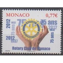 Monaco - 2012 - No 2831 - Rotary ou Lions club