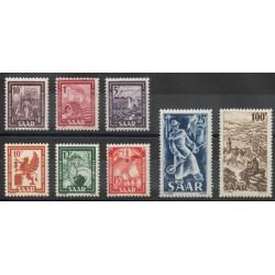 Saar - 1949 - Nb 255/262