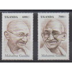 Ouganda - 1997 - No 1569/1570 - Célébrités