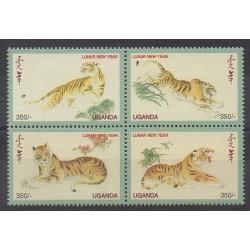 Uganda - 1998 - Nb 1601/1604 - Horoscope