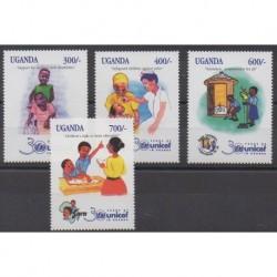 Uganda - 1998 - Nb 1611/1614 - Childhood