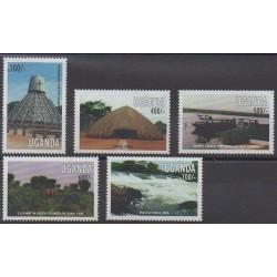 Uganda - 1998 - Nb 1606/1610 - Tourism