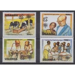 Ouganda - 1999 - No 1725/1728