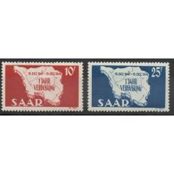 Saar - 1948 - Nb 248/249