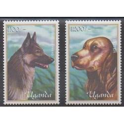 Uganda - 2001 - Nb 2000/2001 - Dogs