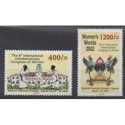 Uganda - 2002 - Nb 2041/2042