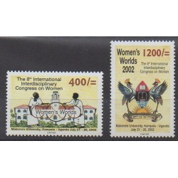 Ouganda - 2002 - No 2041/2042