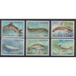 Ouganda - 2005 - No 2173/2178 - Animaux marins