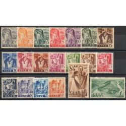 Saar - 1947 - Nb 196/215