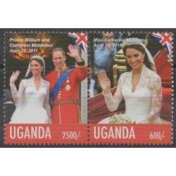 Ouganda - 2011 - No 2317/2318 - Royauté - Principauté