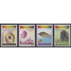 Uganda - 2006 - Nb 2182/2185