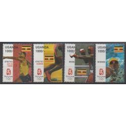 Ouganda - 2007 - No 2219/2222 - Jeux Olympiques d'été